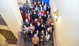Winteruniversität gestartet: Studenten von allen Kontinenten in der Barockstadt