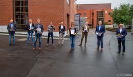 Staatssekretär Conz besucht RhönSprudel