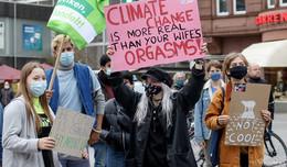 Klare Botschaft von Fridays for Future: Change the politics - not the climate