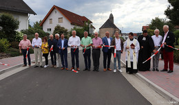 Ortsdurchfahrt K88 in Döngesmühle und Berishof offiziell freigegeben