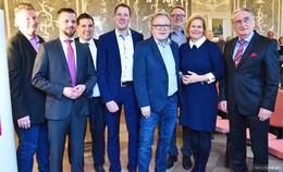 Landesvorsitzende Nancy Faeser beim Neujahrsempfang der SPD