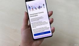 Corona-Warn-App als Unterstützung bei Nachverfolgung von Kontakten
