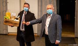 O|N im Gespräch mit Bürgermeister Ronny Lars Günkel und Hubert Blum