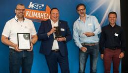 Der Trophäenschrank von KSE füllt sich: InnoInstall Award Sieger 2021