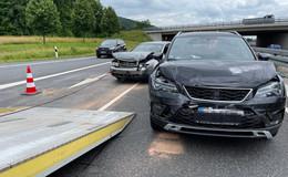 Auffahrunfall: Crash zwischen Fulda-Nord und Abzweig Dietershan