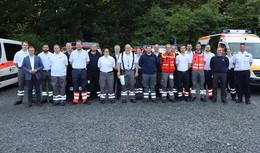 Ins Katastrophengebiet: Einsatzkräfte aus dem Landkreis helfen in Ahrweiler