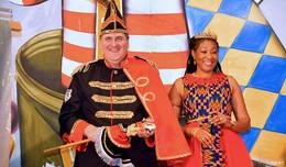 Prinz Peter und Prinzessin Maryam an der Spitze des KCV