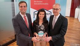 Immobilienmakler der Sparkasse Fulda erhalten WELT-Qualitätssiegel