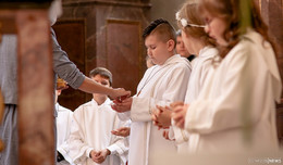 Erstkommunion in der Stadtpfarrkirche (1): Kommt zum Fest des Lebens