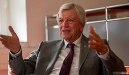 Ministerpräsident Volker Bouffier in Quarantäne - Es geht ihm gut