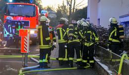 Zimmerbrand in der Elisabethenstraße in Horas - Frau mit Rauchgasvergiftung