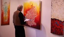 """""""Die Farbe Rot"""": Ausstellung der Mitglieder des Jungen Kunstkreises"""