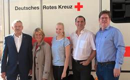 DRK Fulda begrüßt finnische Gaststudentin im Rettungsdienst