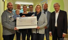 Musikverein Landenhausen spendet für die kleinen Patienten