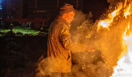 Ärger über Agrar-Paket: In Osthessen brennen wieder Mahnfeuer
