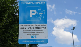 Thema Knöllchen auf dem Supermarktparkplatz - Abzocke oder erlaubt?