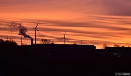 Wunderschönes Himmelfarbspiel am Morgen - Leserbilder