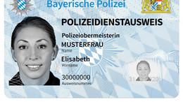 Höchste Sicherheitsstandards: Bayerische Polizei mit neuem Dienstausweis