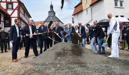 Spatenstich für das Prestigeprojekt: Bau des Medzentrums Kirtorfer Höfe beginnt