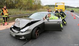 64-Jähriger verliert durch Hustenanfall Kontrolle über sein Fahrzeug