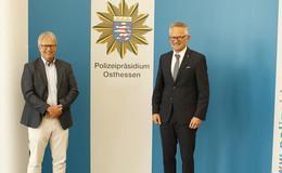 Wechsel in der Leitung: Kriminaldirektor Andreas Böhm geht in den Ruhestand