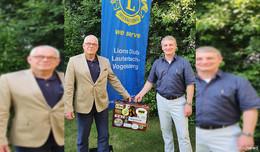 Führungswechsel im Lions-Club: Nachfolger ist Heinz Günter Stelzer