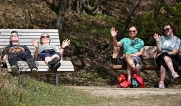 Beliebtes Ausflugsziel in Waldhessen auch zum Muttertag
