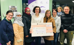 Netzwerk spendet 800 Euro an Deutsche KinderPalliativStiftung
