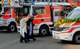 Dienststelle rüstet auf: Gleich vier Neue für die Feuerwehr