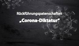 Rückführungspatenschaften und Corona-Diktatur sind Unwörter des Jahres