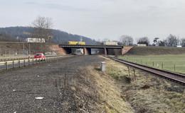 A4 Bad Hersfeld: Vorabmaßnahmen mit Sperrungen der B62