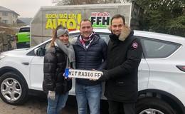 Michael Möller aus Niederkalbach gewinnt Auto bei FFH - Ich freue mich total!