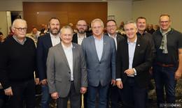 Hartwig Blum im Amt bestätigt - Carsten Froß und Sven Haustein als Stellvertreter