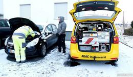 Gelbe Engel rücken zu 1.000 Einsätzen aus: Immer wieder die Autobatterie