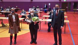 Grandseigneur des Kreistages: Horst Hannich sagt nach 38 Jahren Adieu