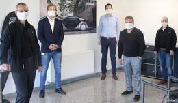 EDAG entwickelt Halterung für Masken - Partner für Produktion gesucht