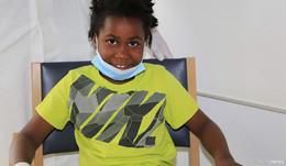 Schwere Knochenentzündung: Kleiner Junge aus Angola ist wieder wohlauf
