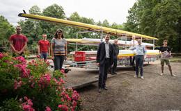 Ein neuer Bootsanhänger für den Hersfelder Ruderverein