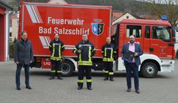 Schönes Geschenk: Kostenlose Wärmebildkamera für die Feuerwehr