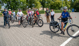 E-Bike-Boom: Fahr-Training des Polizeipräsidiums voller Erfolg