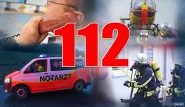 Im Notfall 112 wählen: Von Zimmerbrand bis zur ungewollten Telefonseelsorge