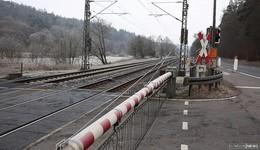 Ab Montag Vollsperrung des Bahnübergangs Hohenwehrda