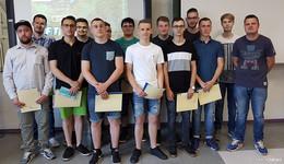 Absolventen metallgewerblicher Berufe erhielten Abschlusszeugnisse