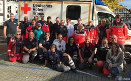 Kein Lolls ohne Sanis: ehrenamtliche Rot-Kreuz-Helfer im Einsatz