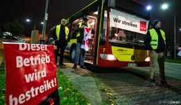Tag 8 im Busfahrerstreik - Verhandlungen über Schlichtung am Dienstag