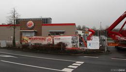 Am kommenden Samstag: Burger King eröffnet an den Kaiserwiesen