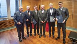 Große Ehre für vier Osthessen: Langjähriges Engagement wird ausgezeichnet
