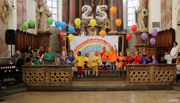 Gottesdienst und Sommerfest: Kinderhaus St. Luise feiert 25-jähriges Bestehen