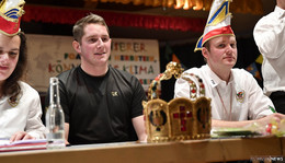Große Ehre: Gregor Ruhl (22) ist der neue Bajazz des Springerzuges