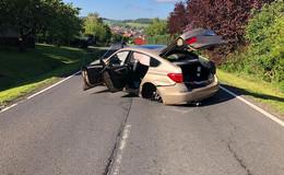 Crash zwischen Hosenfeld und Giesel: zwei Personen leicht verletzt